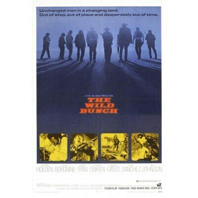 The Wild Bunch-movie sheet-Poster 70cm x 100cm-LAMINATED Available-P1083