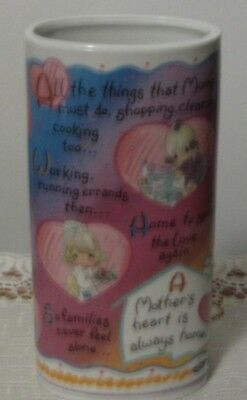 Precious Moments Mother's Day Vase, 1996