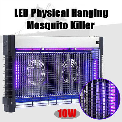 10W LED Hanging Zappers Mosquito Killer Light Electric Fly Insect Bug Trap Lamp
