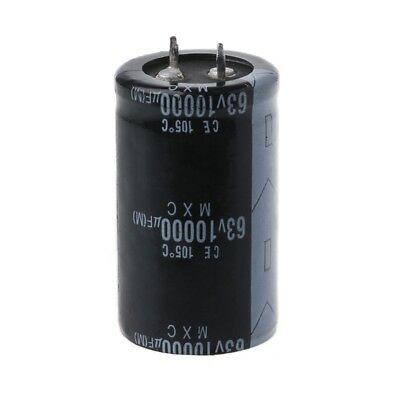 105℃ Radial 18 x 36mm US Stock 4pc Electrolytic Capacitors 10000uF 10000mfd 25V