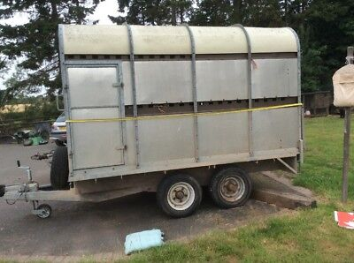 used cattle trailers