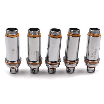 Dual Clapton Coils Head 0.27/0.2 0.4ohm For Cleito RTA Tank 5xReplacement