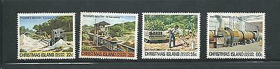 1981 Phosphate Industry 22c, 28c, 55c & 60c All Complete MUH/MNH Value Here