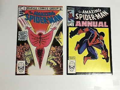 Amazing Spiderman Annuals 16 and 17 Marvel Bronze Age Comics