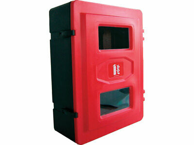 TG Jonesco 6/9/12KG Fire Extinguisher Double Cabinet Box  Rotationally Moulded