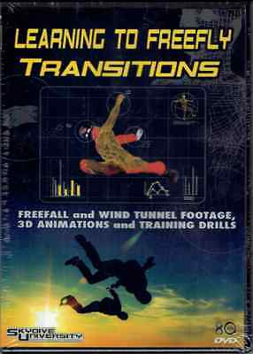 Learning To Freefly - Transitions - Lehrvideo Freefly neu und original verpackt