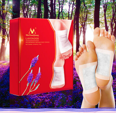 5/10 Pairs Detox Foot Pads With Adhesive Detoxifying Weight Loss Foot Patch wu1