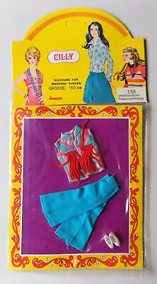 "Vintage - Cilly Doll mini-outfit for 15,5cm/6 "" Doll - Topper Dawn Clone / Gary"