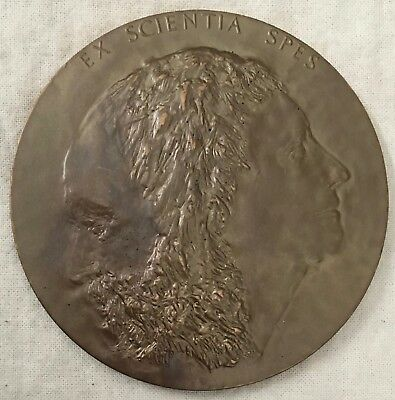 The New York Public Library 50th Anniversary Medal, 1961 by Leonard Baskin