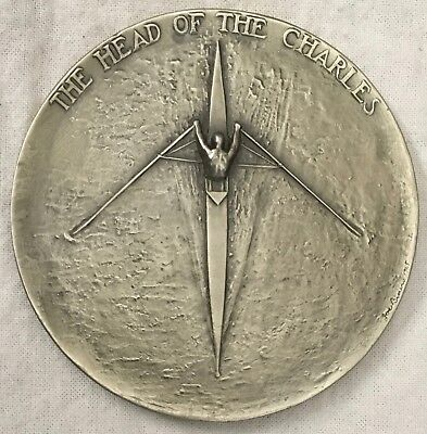"""MACO. """"The Head of Charles"""" Rowing Medal by Joseph Brown"""