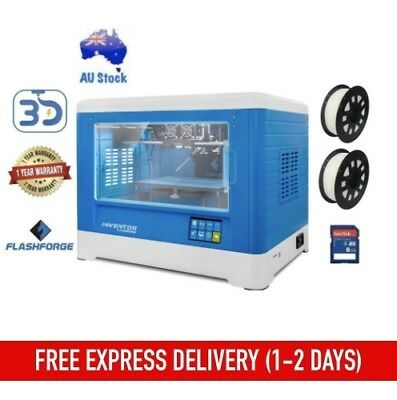 3D Printer Flashforge Inventor Dreamer Dual Extruder with Built-In Camera