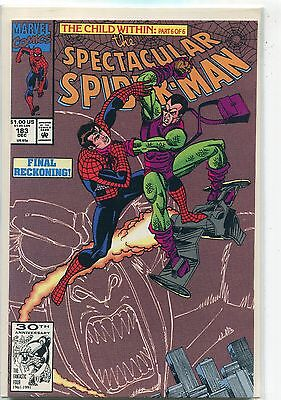 The Spectacular Spider-Man #183 (Dec 1991, Marvel), VF/NM