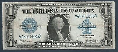 1923 $1 Large Silver Certificate *Free S/H After 1st Item*