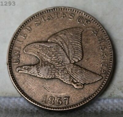"1857 Flying Eagle Cent ""XF"" *Free S/H After 1st Item*"