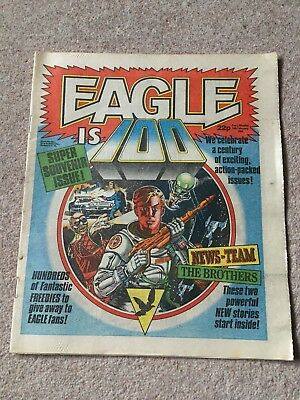 Eagle Comic - 18th February 1984