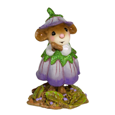 Wee Forest Folk - February Flower Mouse Of The Month M-640b