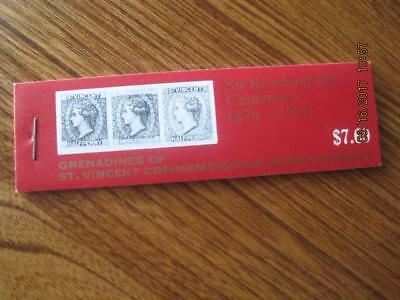 GRENADINES of ST. VINCENT small stamp Booklet 6 diff $7.60 NM Old value $4.50