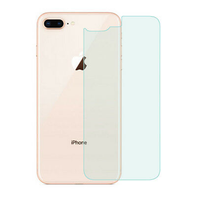 For iPhone 8 Plus Clear Rear Back Tempered Glass Screen Protector Film Cover