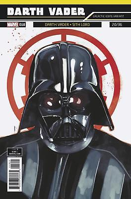 Darth Vader (2017-) #18 Darth Vader Sith Lord Galactic Icons Variant NM Marvel