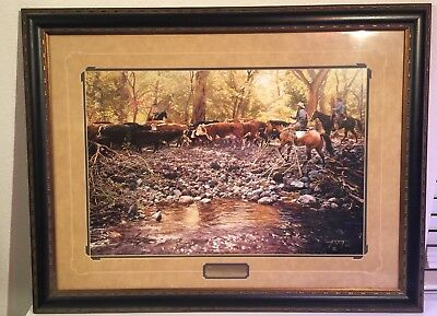 "Tim Cox Artist Proof Print ""Along Eagle Creek"""