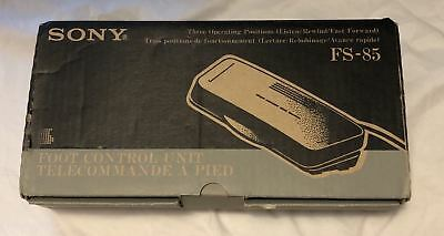New Sony FS-85 Foot Control Unit Pedal Control for Transcriber Dictator