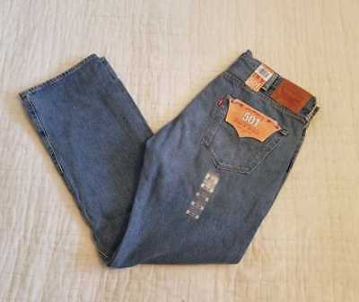 8cb087ef047 New Men's Levi's 501 Original Fit Made In The Usa Jeans Medium Authentic  Denim
