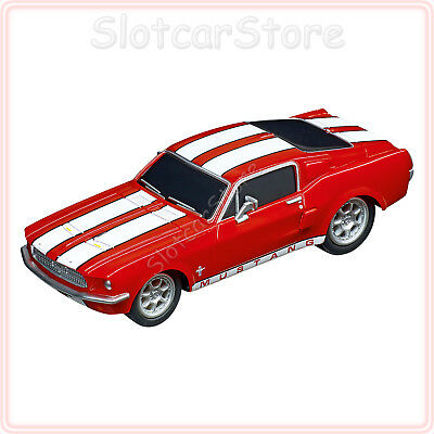 """Carrera GO 64120 Ford Mustang `67 """"Racing Red"""" 1:43 Slotcar Auto GO Plus"""