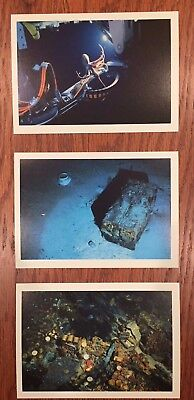 Ss Central America Ssca Shipwreck Tommy Thompson Postcards Set Of Three