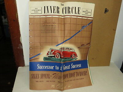 Vintage 1941 Packard Automobile Brochure - The Inner Circle Large Format