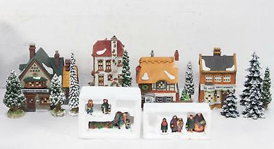 Lot Of 8 Packages Dept. 56 Village/Dickens' Village Collection