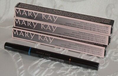 Lot of 3 Mary Kay Shadow and Line Eye Duo BALI BLUE Liner Eyeliner