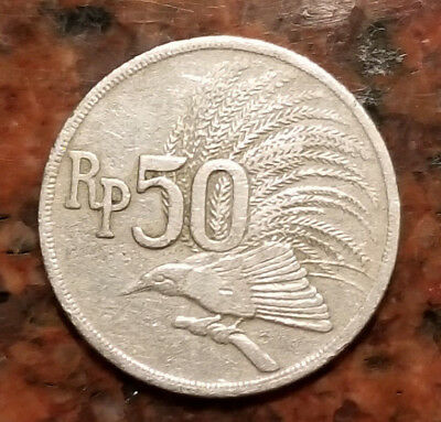 1971 Indonesia 50 Rupiah Coin - #1722