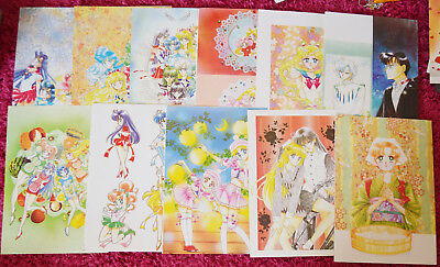 Naoko Takeuchi Sailor Moon SuperS Artbook 4 IV Pages and Posters