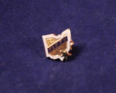 """Very Nice 1/2"""" Order of Eastern Star """"OES Fifty"""" Hat Lapel Pin"""