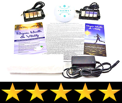 Ion Detox Ionic Detox Foot Bath Spa Chi Cleanse Unit for Home Use. WITH UPGRADE