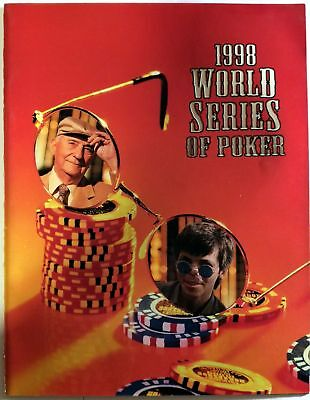 1998 WSOP World Series of Poker Program Las Vegas Featuring Stu Ungar