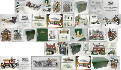 """Dept 56 """"build Your Own Display"""", Choose From 24 Different Items, Dv, Cic, Nev"""