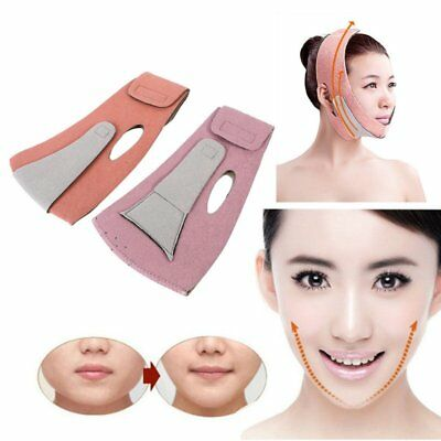 Thin Face Slimming Mask Bandages Facial Double Chin Care Weight Loss Face Belts