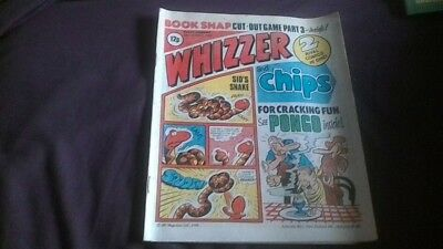 Whizzer and Chips Comic 30th August 1980 Great Condition