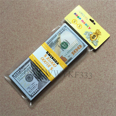 EWIBUSA PROP MONEY COPY MONEY $100 for $10,000-Drawing /movies /film/as a gift-O