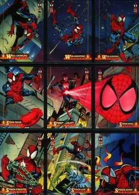 1994 Amazing Spider-Man Fleer Ultra Series 1 Marvel Complete Card Set #1-150