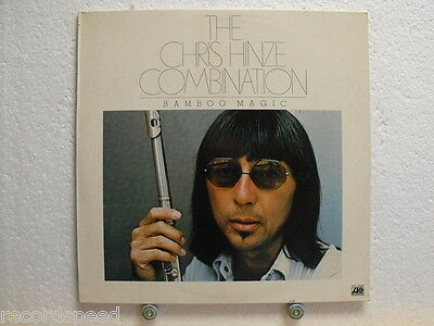 "★★ 12"" LP - THE CHRIS HINZE COMBINATION - Bamboo Magic - ATL 50488"