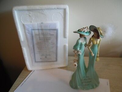 thomas kinkaid beloved sisters figurine a sister is more than a wonderful friend