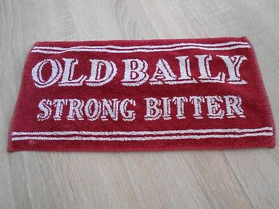 Bartuch - Bar Towel - Thekenaufleger, Old Baily Strong Bitter