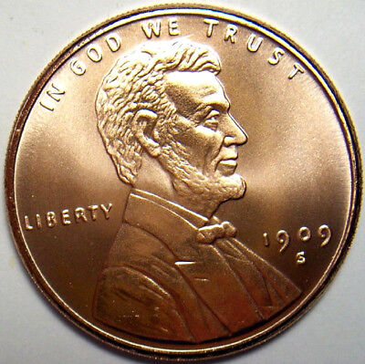 1909-S VDB Lincoln Cent Penny Design Round 1 Oz 999 Fine Copper Price Per Round