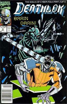 Deathlok (1991 series) #4 in Near Mint condition. Marvel comics