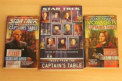 Star Trek Tales from the Captains Table, 3 Bände englisch