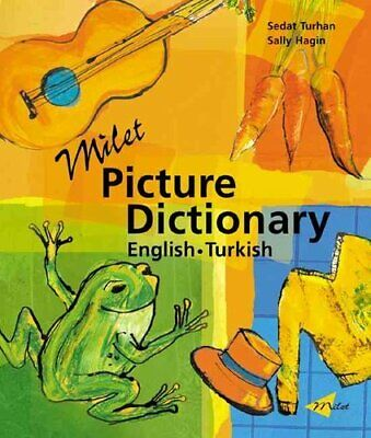 Milet Picture Dictionary (turkish-english) by Sedat Turhan 9781840593617