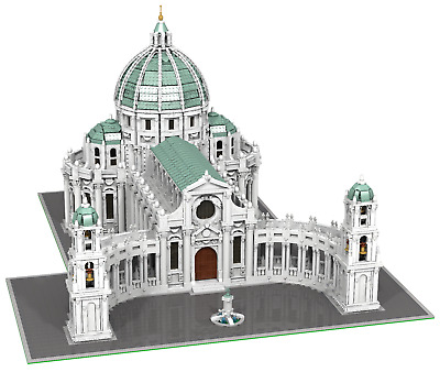 Lego Baroque Cathedral Church Moc Instructions Only Eur 3650