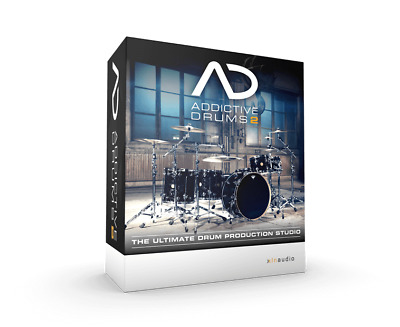 New XLN Audio Addictive Drums 2 Drum Software eDelivery VST, AU, AAX Standalone